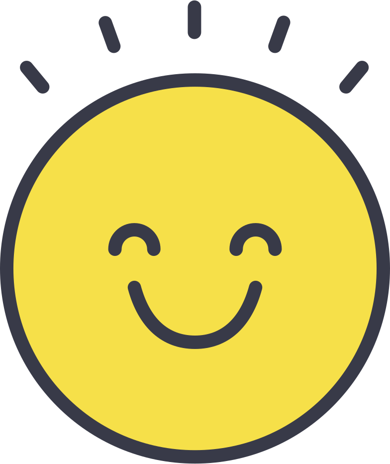 happy face Clipart illustration in PNG, SVG