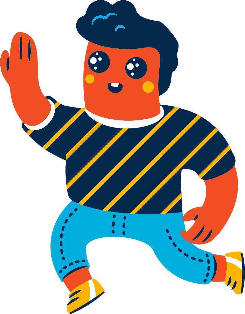 style high-five man Vector images in PNG and SVG | Icons8 Illustrations