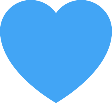 style heart blue images in PNG and SVG | Icons8 Illustrations