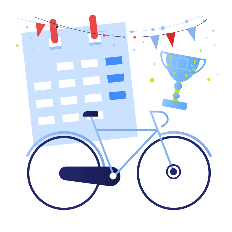 style Victory in a bicycle race Vector images in PNG and SVG | Icons8 Illustrations