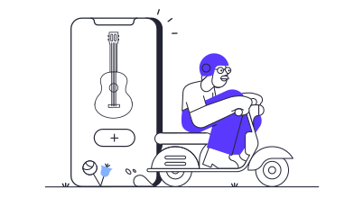 style Musical instruments app delivery images in PNG and SVG | Icons8 Illustrations