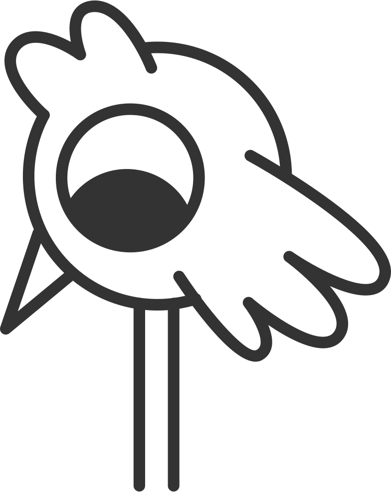 coming soon 2  bird Clipart illustration in PNG, SVG