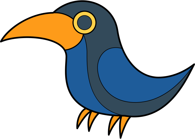 crow Clipart illustration in PNG, SVG