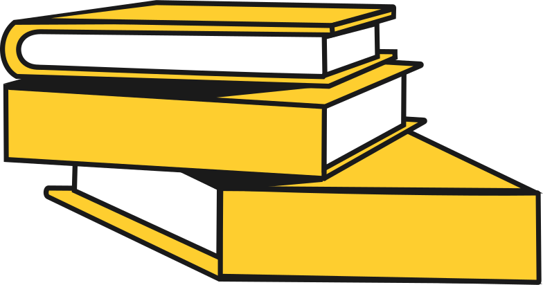 stack of books Clipart illustration in PNG, SVG