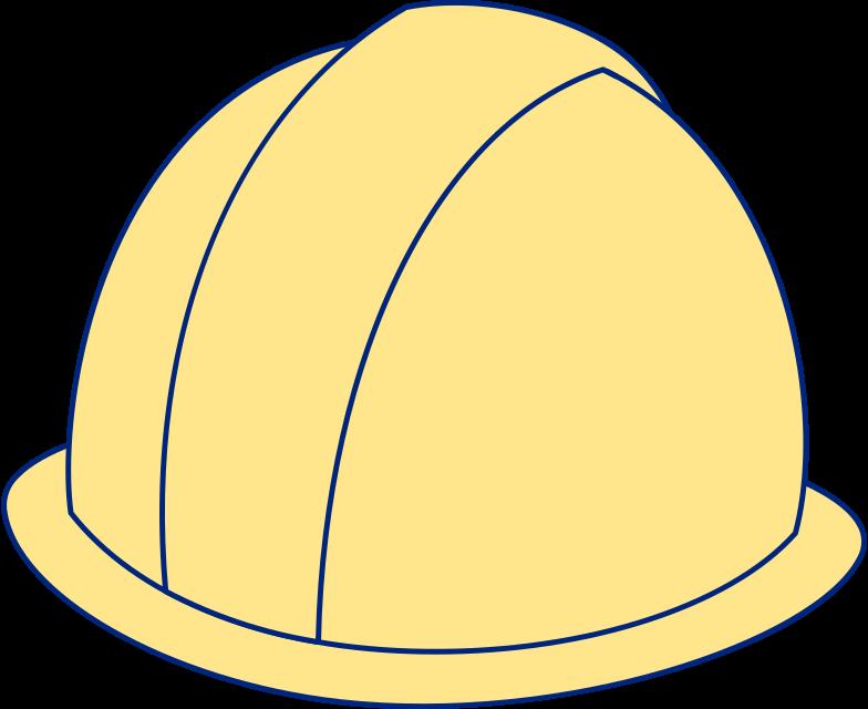 workers helmet Clipart illustration in PNG, SVG