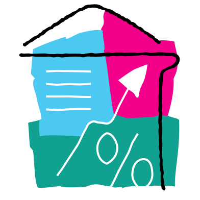 style Real estate market growth images in PNG and SVG | Icons8 Illustrations