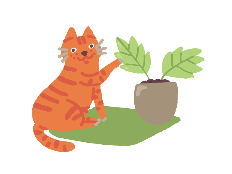 style  gardener cat Vector images in PNG and SVG | Icons8 Illustrations