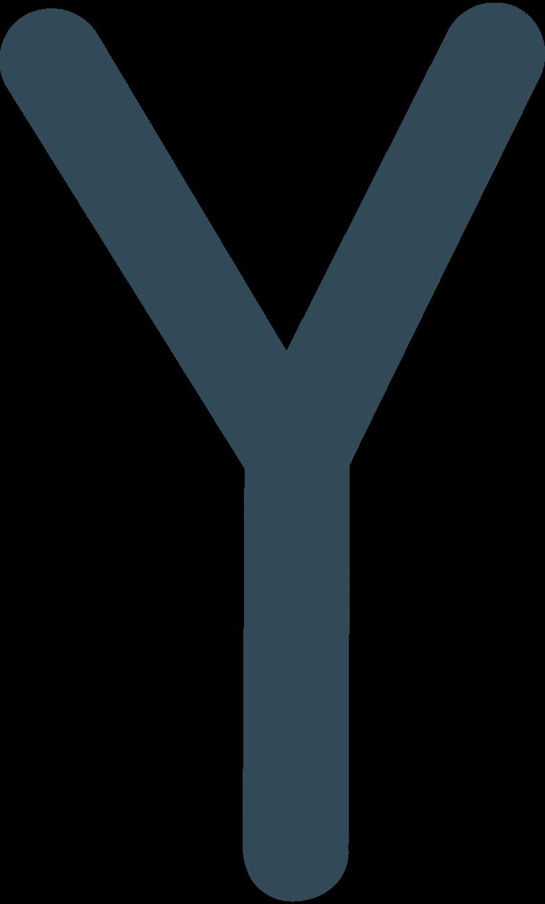 y dark blue Clipart illustration in PNG, SVG