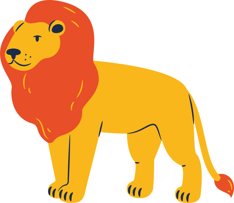 style lion standing Vector images in PNG and SVG | Icons8 Illustrations