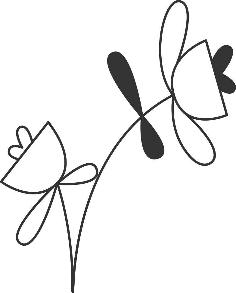 welcome 3  flower Clipart illustration in PNG, SVG