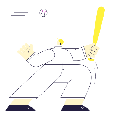 style Baseball images in PNG and SVG | Icons8 Illustrations