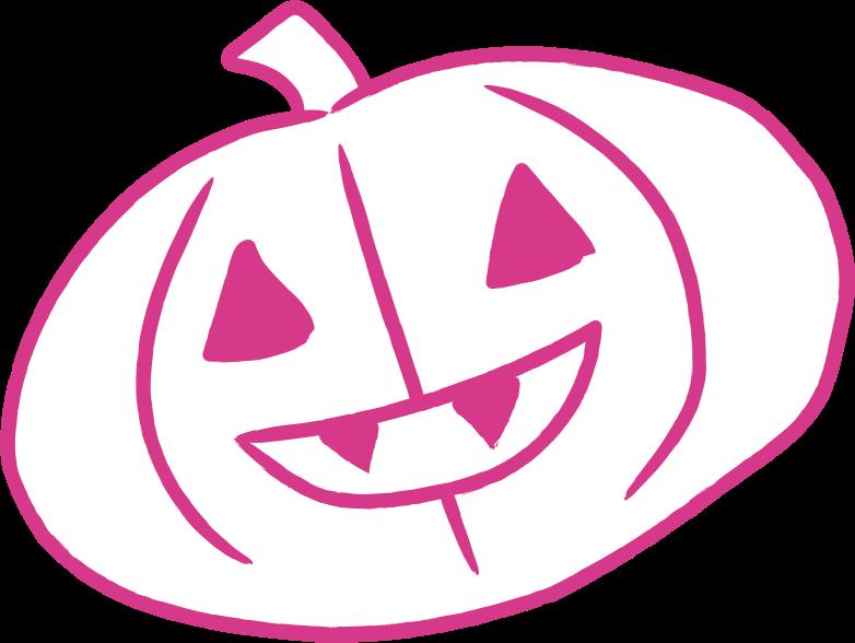 halloween pumpkin Clipart illustration in PNG, SVG