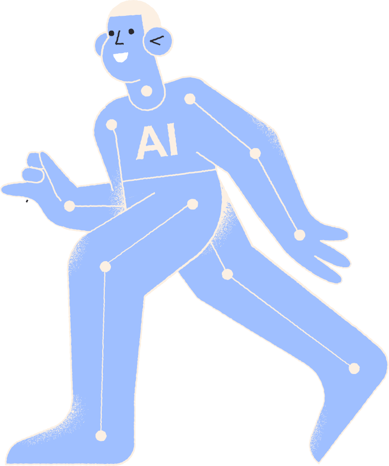 ai robot Clipart illustration in PNG, SVG