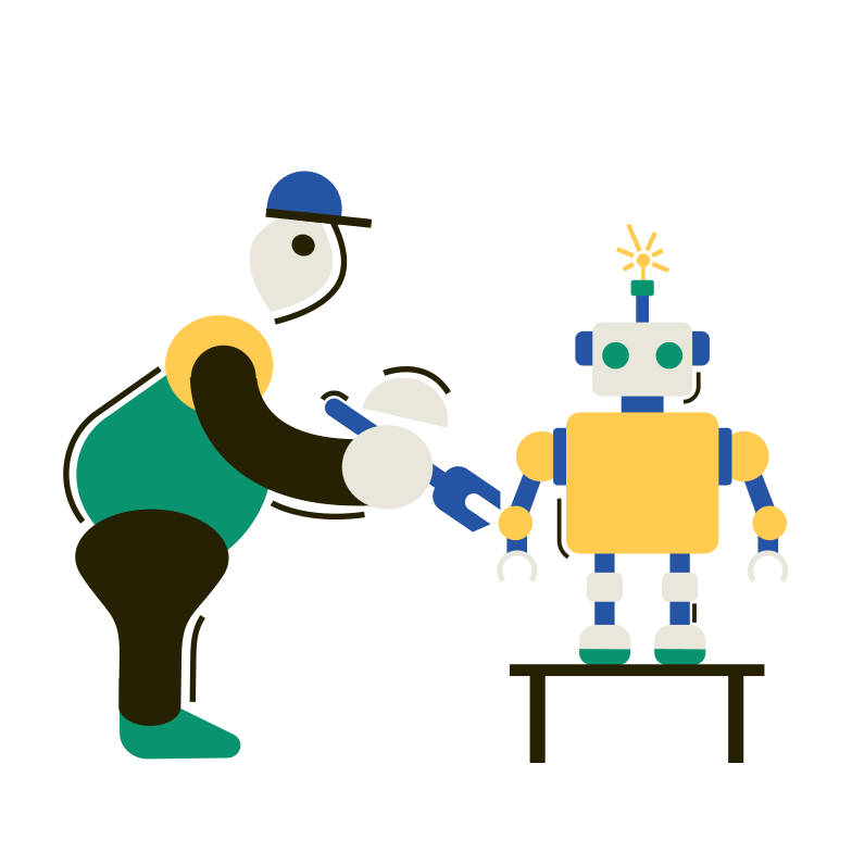 Robotics Clipart illustration in PNG, SVG