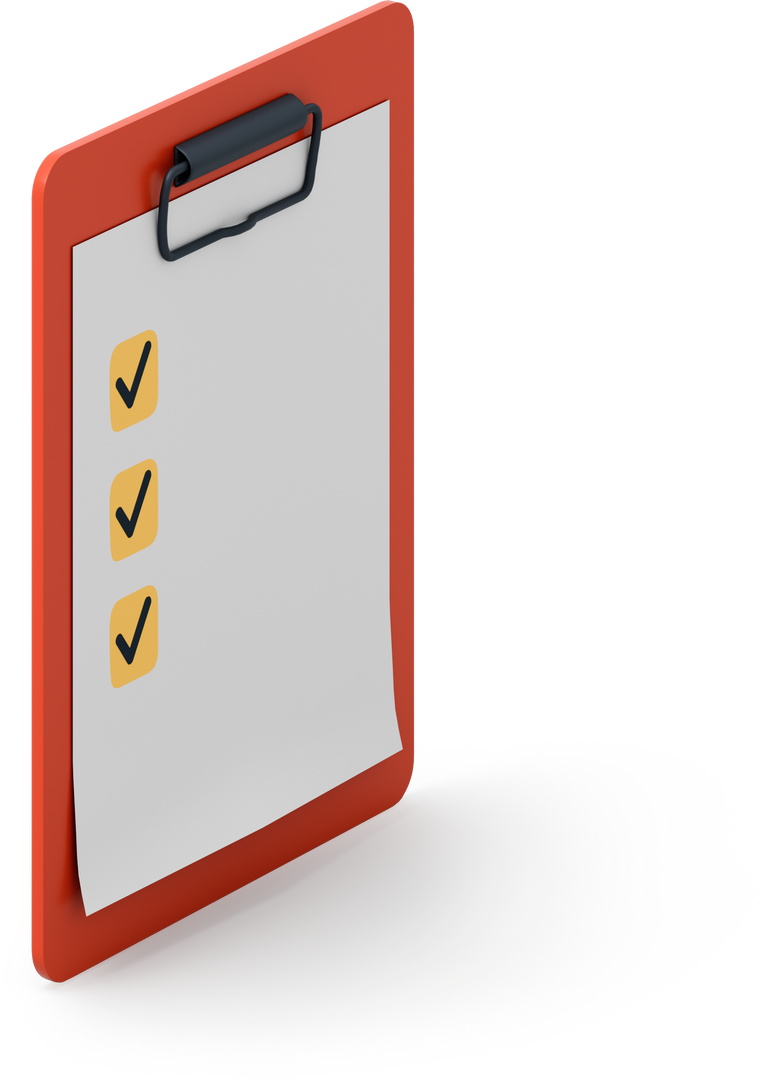 Check list Clipart illustration in PNG, SVG