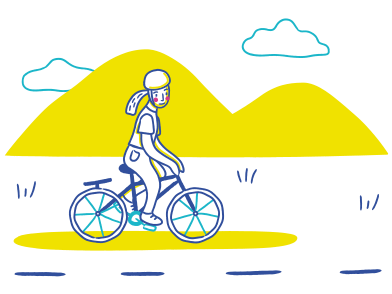 style Bicycle riding images in PNG and SVG | Icons8 Illustrations