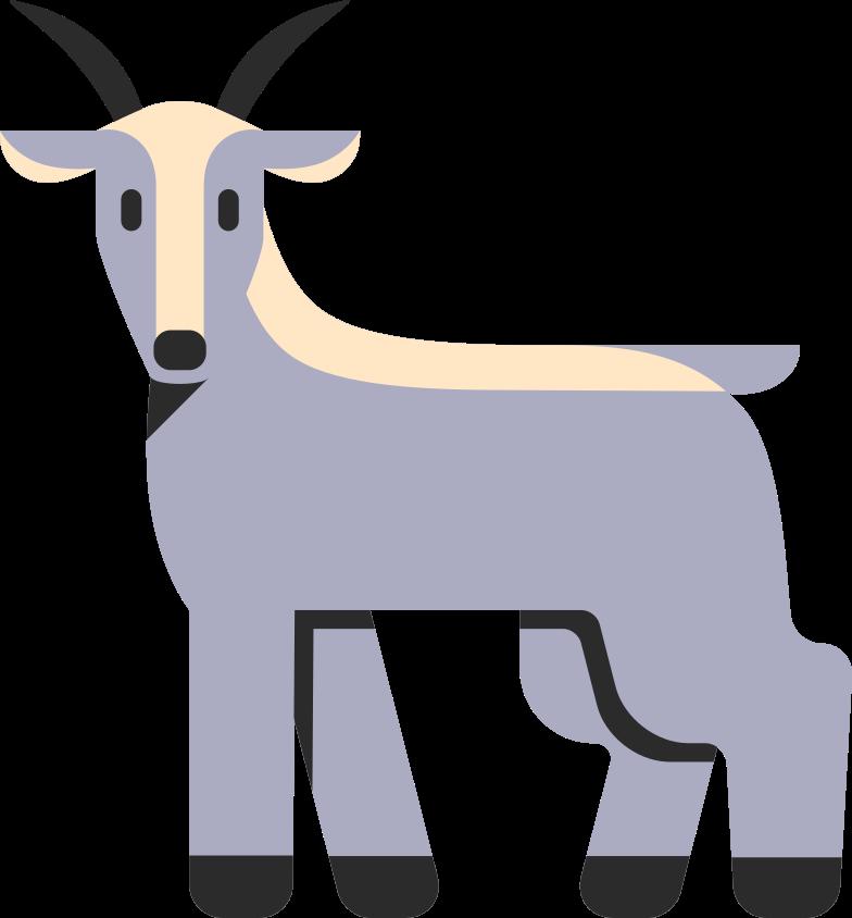 goat Clipart illustration in PNG, SVG