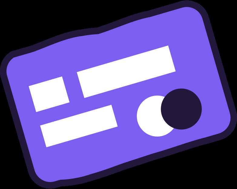 upgrade  credit card Clipart illustration in PNG, SVG