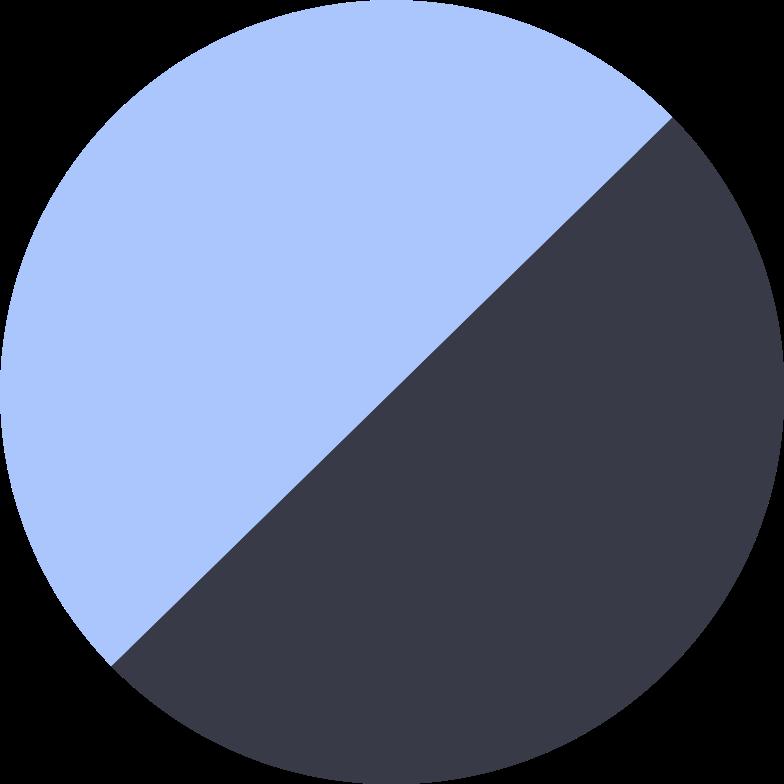 Illustration clipart circle aux formats PNG, SVG