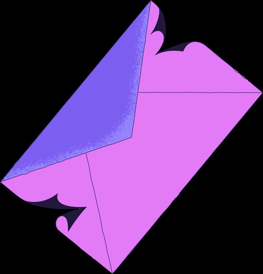 unsubscribe  envelope Clipart illustration in PNG, SVG