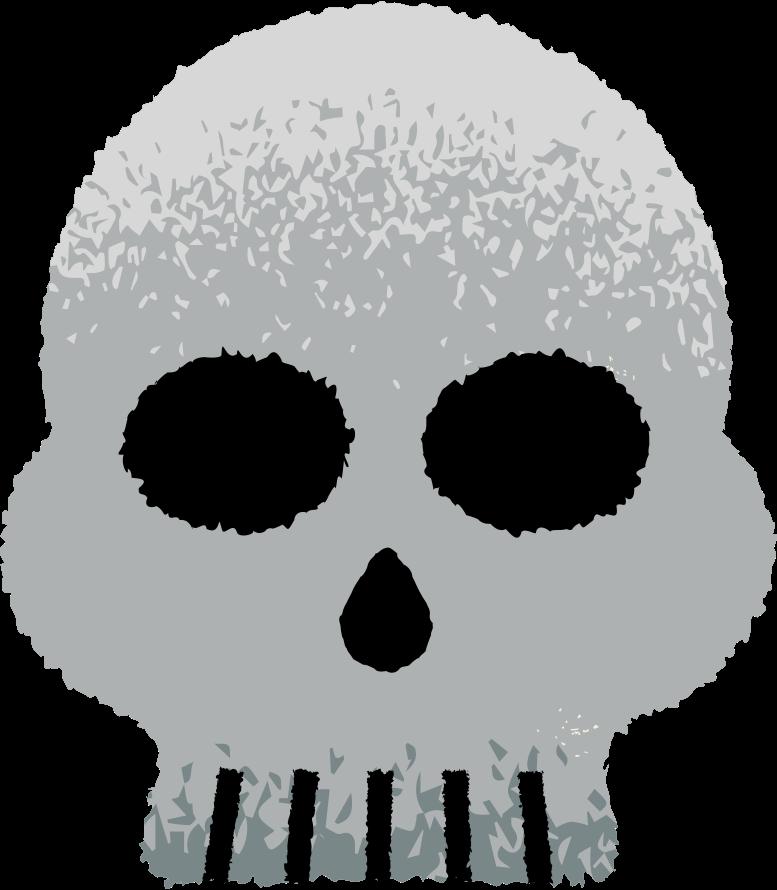 skull Clipart illustration in PNG, SVG