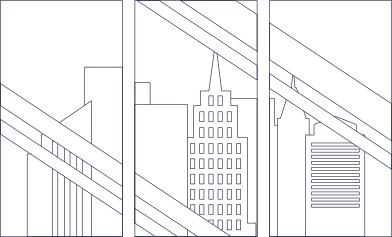 style megapolis in window line images in PNG and SVG | Icons8 Illustrations