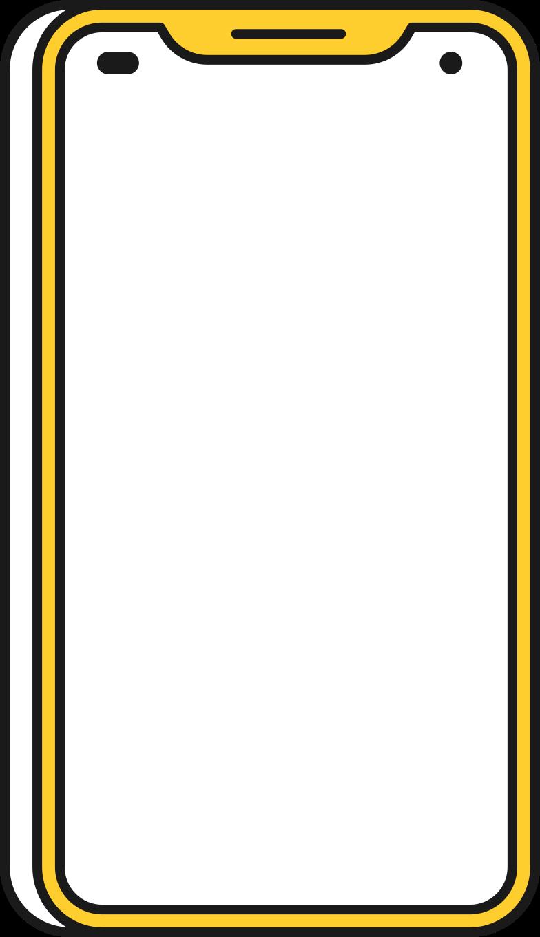 Immagine Vettoriale grande smartphone in PNG e SVG in stile  | Illustrazioni Icons8
