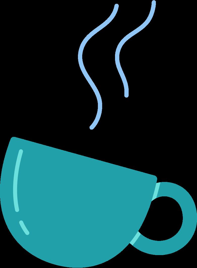 steamed mug Clipart illustration in PNG, SVG