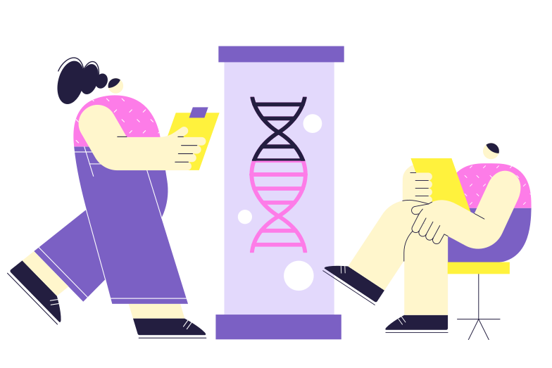 DNA engineering Clipart illustration in PNG, SVG