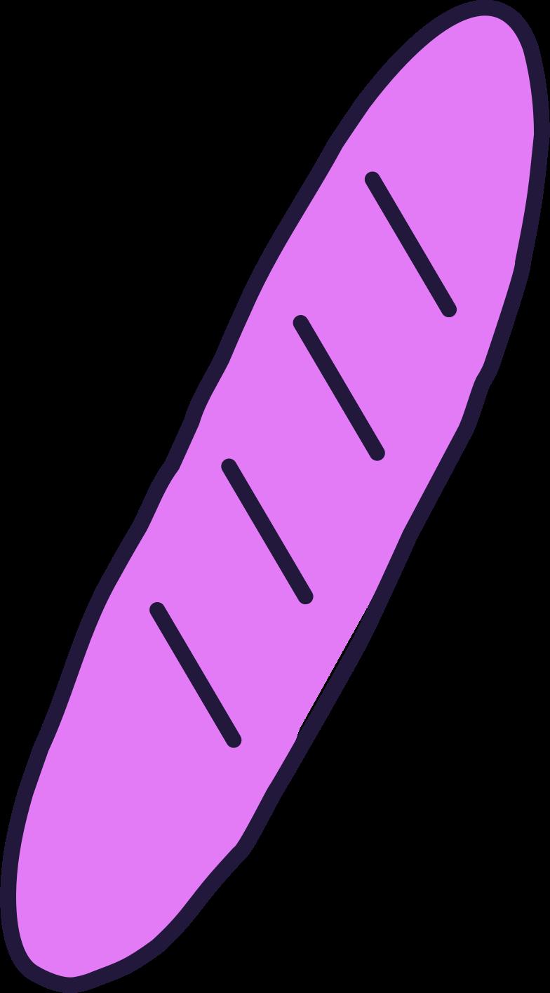 order complete  baguette Clipart illustration in PNG, SVG
