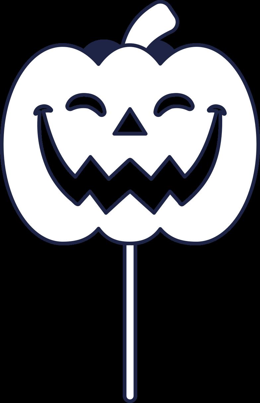 pumpkin mask Clipart illustration in PNG, SVG