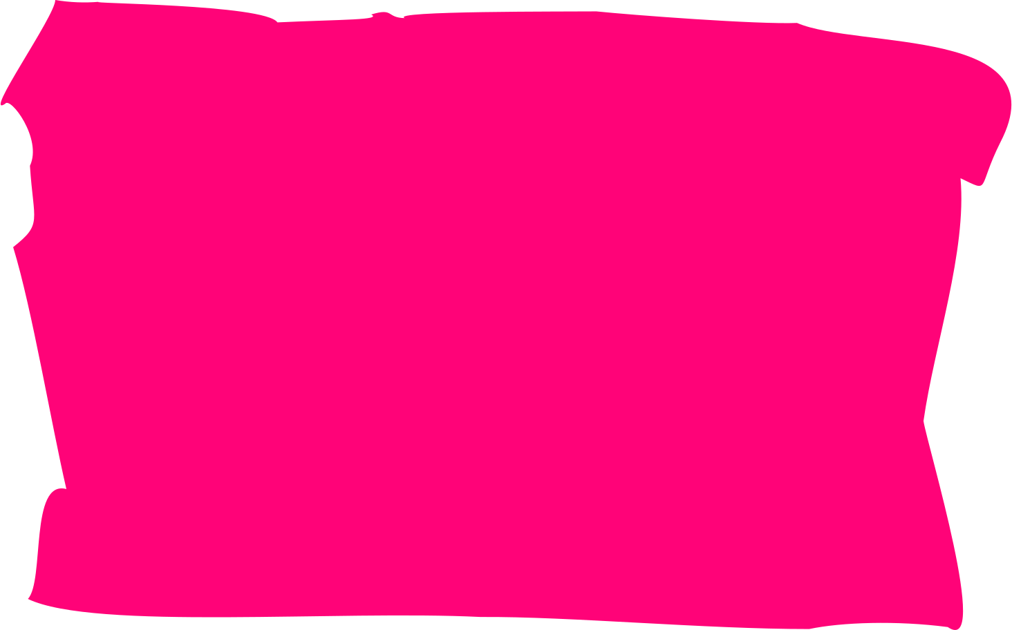 Ilustración de clipart de Rectángulo rosa en PNG, SVG