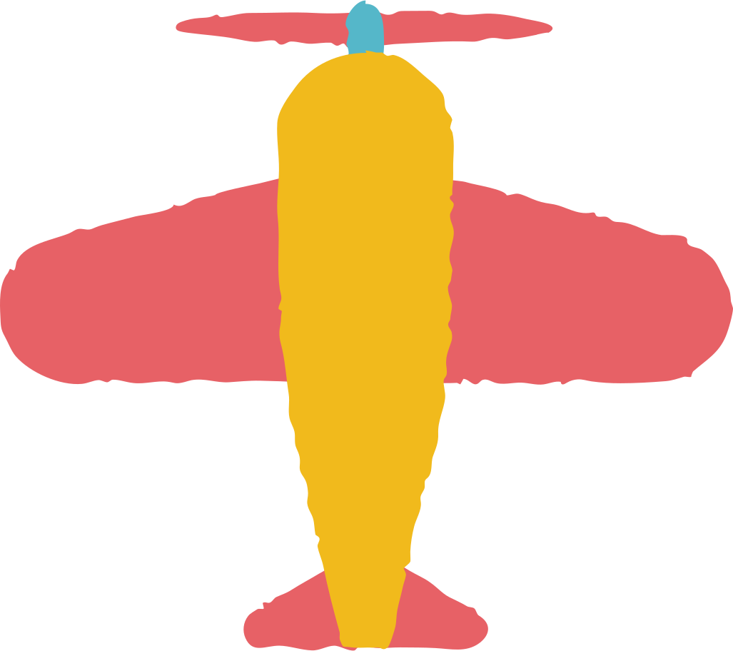 airplane Clipart illustration in PNG, SVG