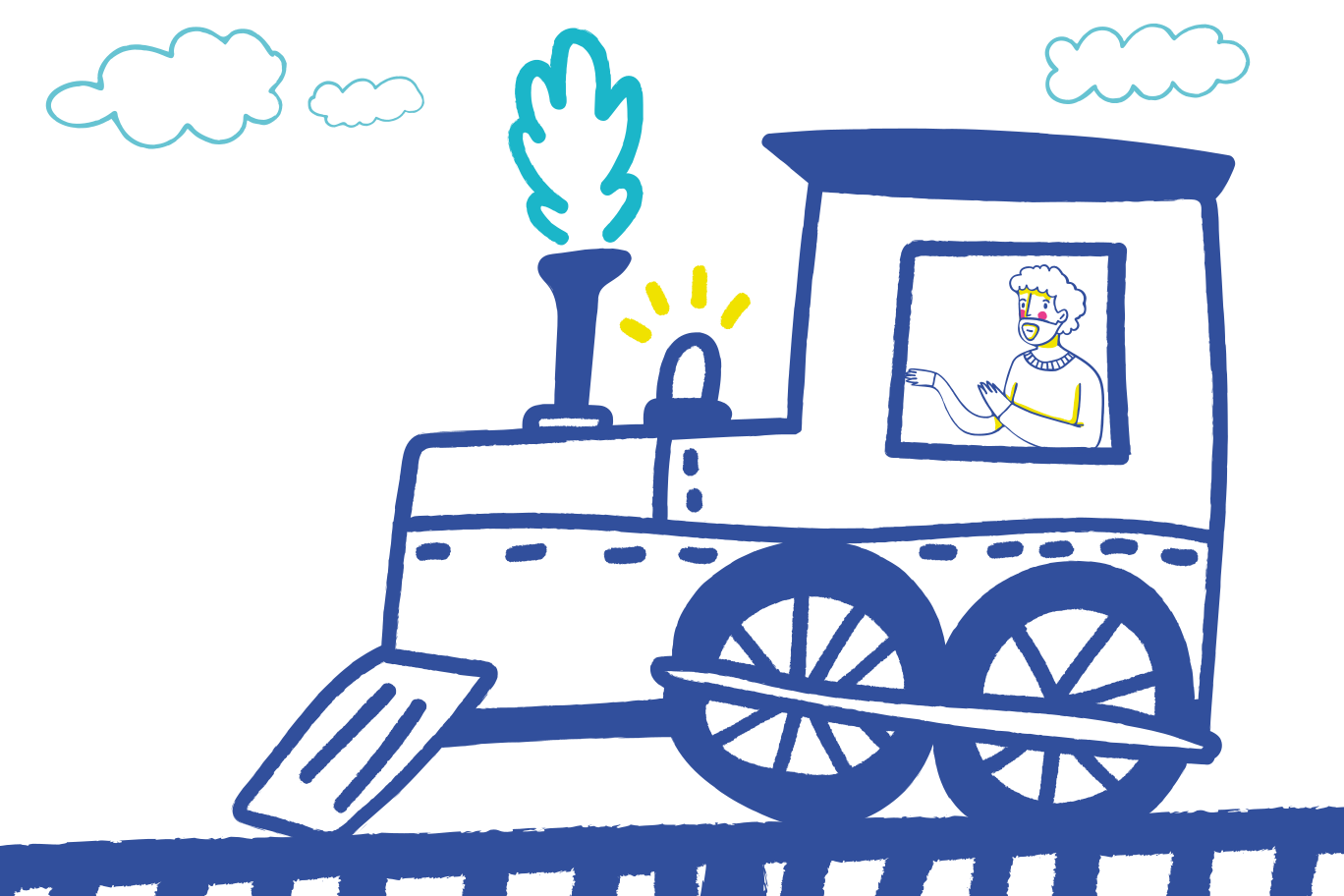 Railroad Clipart illustration in PNG, SVG