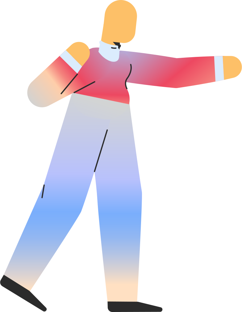 adult pointing Clipart illustration in PNG, SVG