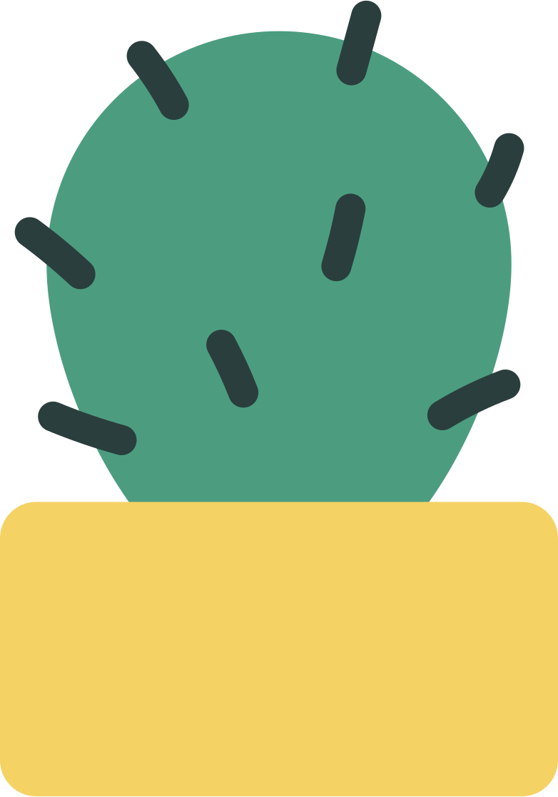 cactus in a pot Clipart illustration in PNG, SVG