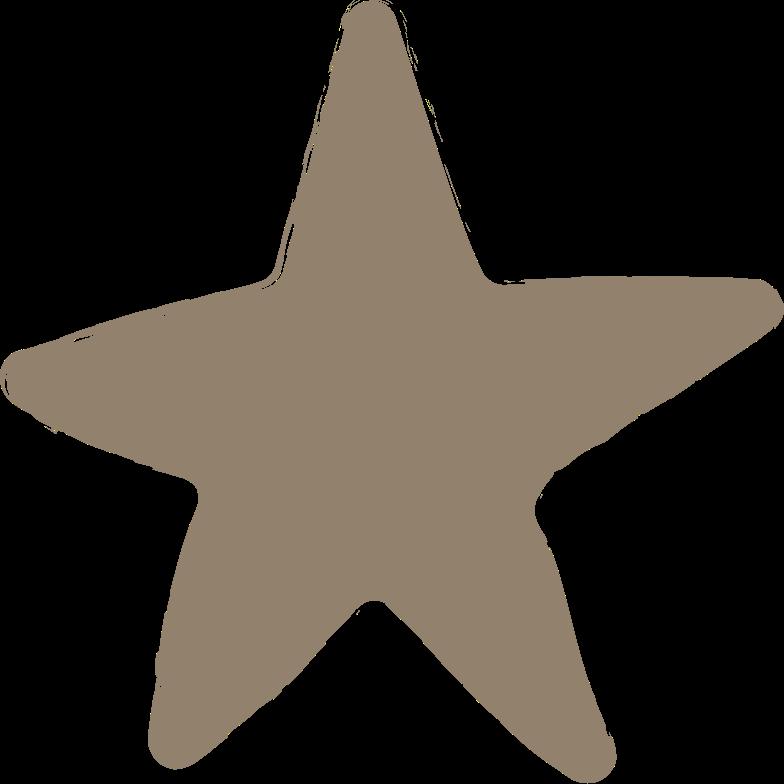 star-dark-grey Clipart illustration in PNG, SVG