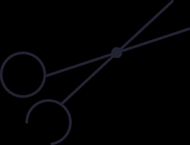 scissors crop Clipart illustration in PNG, SVG