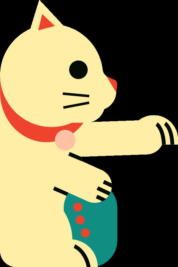 maneki Clipart illustration in PNG, SVG