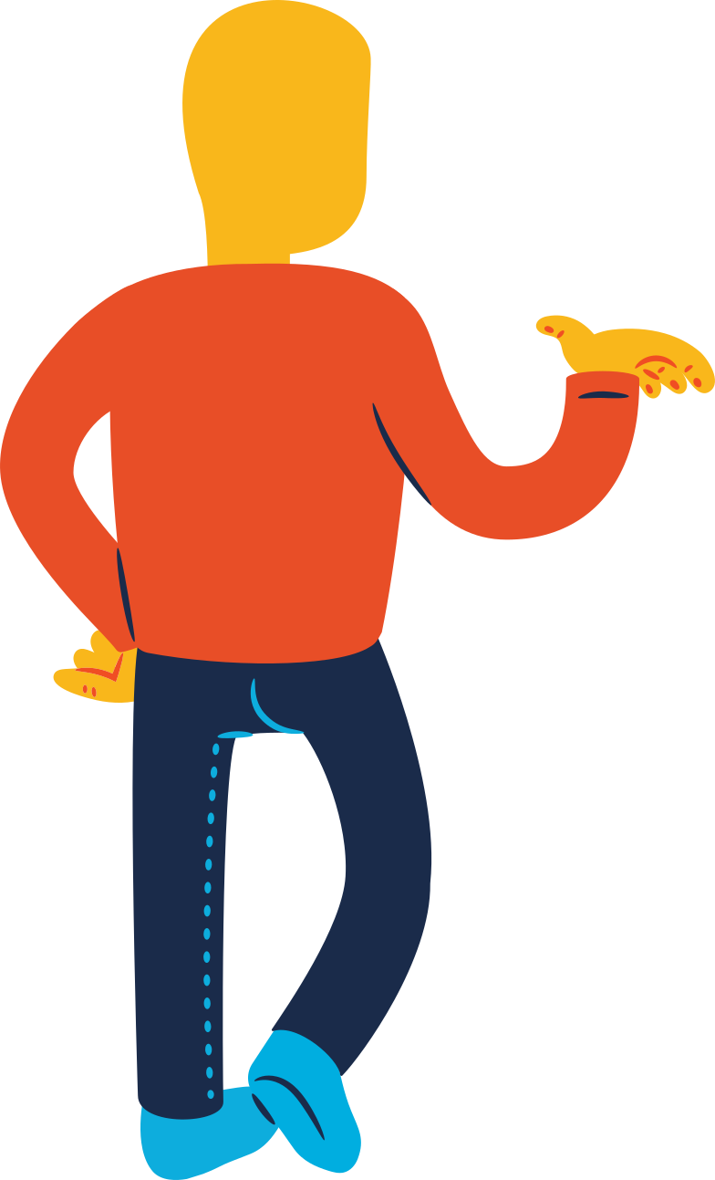 style man standing back profile Vector images in PNG and SVG | Icons8 Illustrations