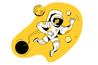 style Welcome to space images in PNG and SVG | Icons8 Illustrations