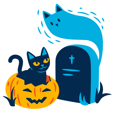 style Halloween meeting images in PNG and SVG | Icons8 Illustrations