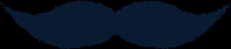 moustache Clipart illustration in PNG, SVG
