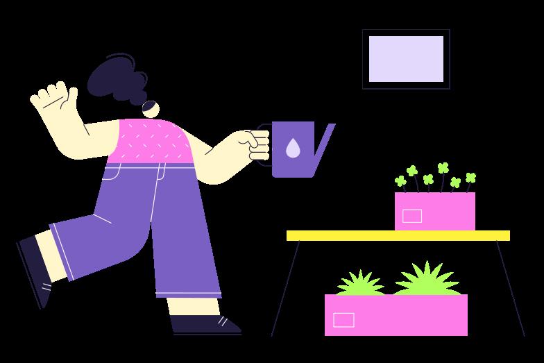 Home garden Clipart illustration in PNG, SVG