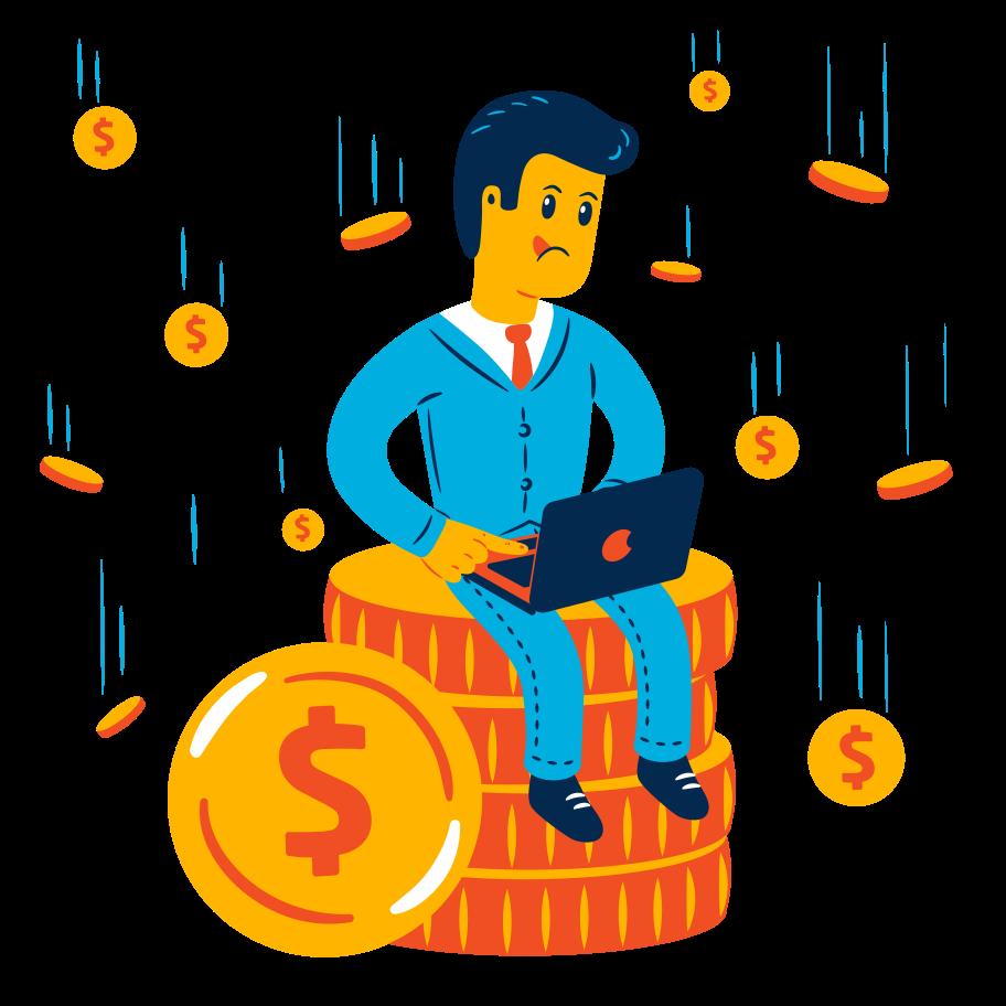 簡単なお金 のPNG、SVGクリップアートイラスト