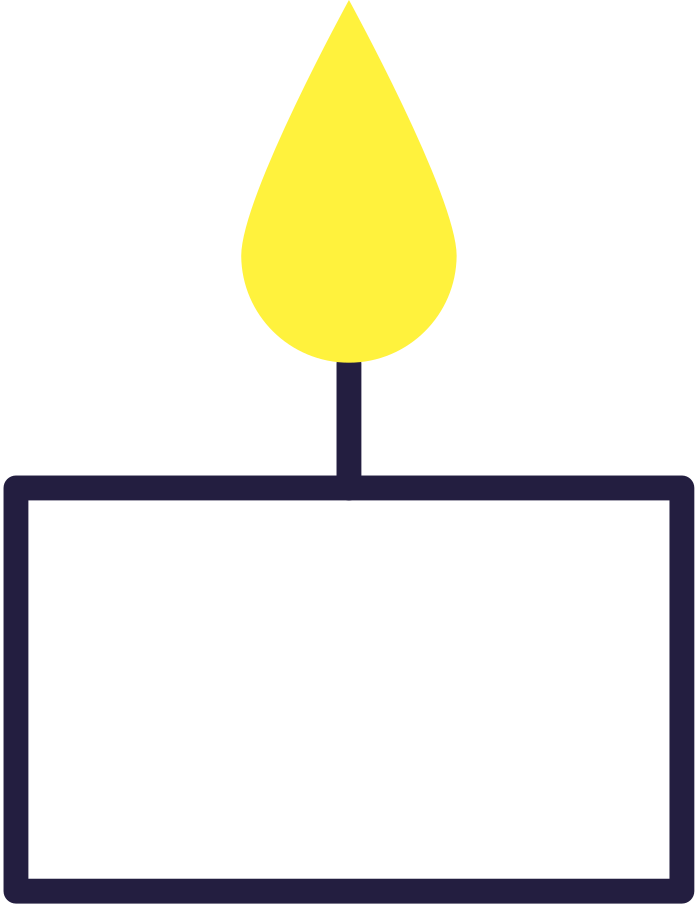 candle Clipart illustration in PNG, SVG