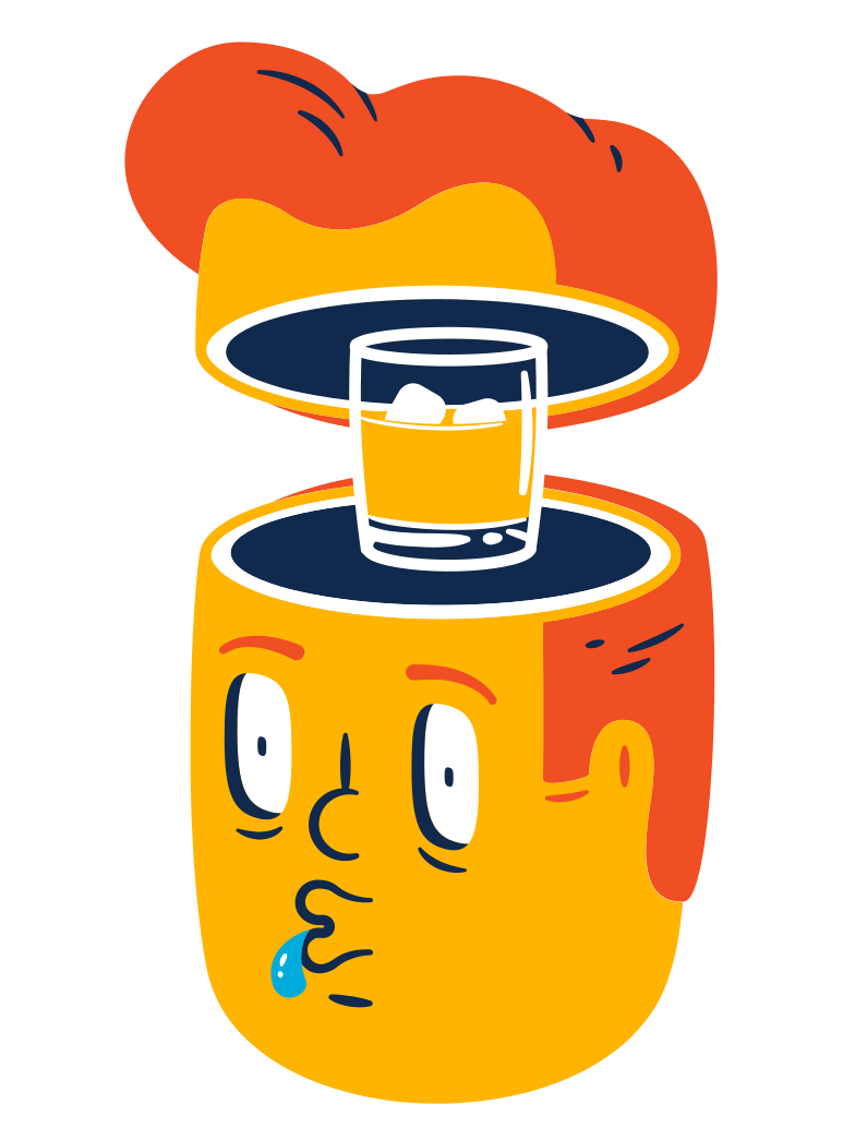 Whiskey Clipart illustration in PNG, SVG