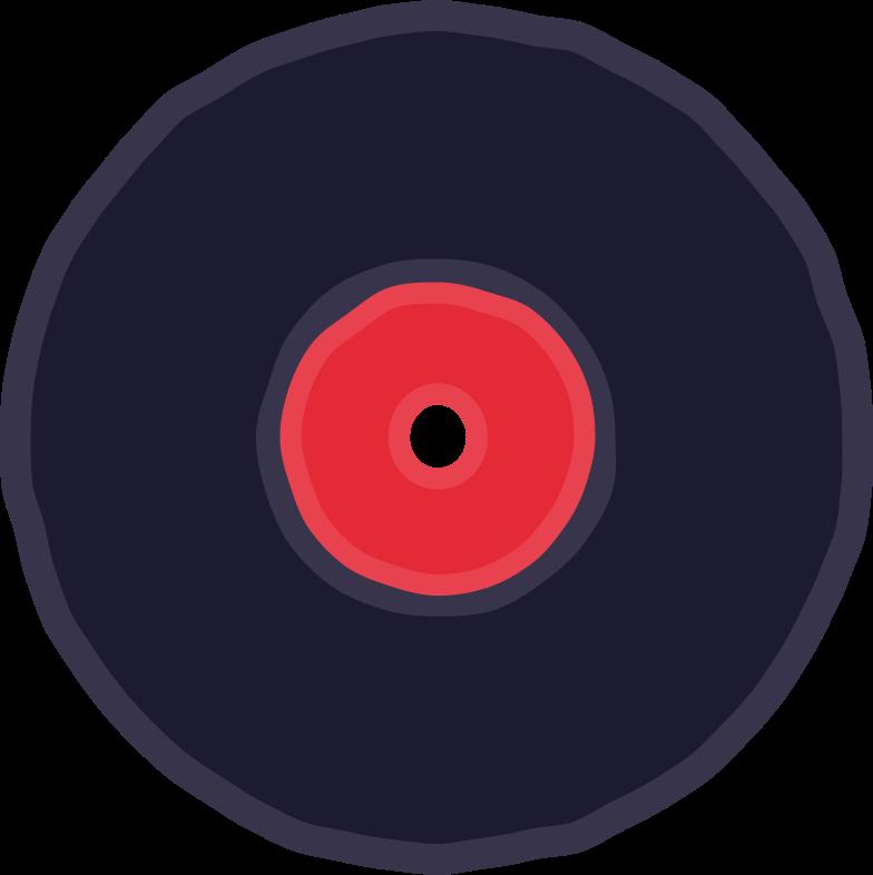 vinil record Clipart illustration in PNG, SVG