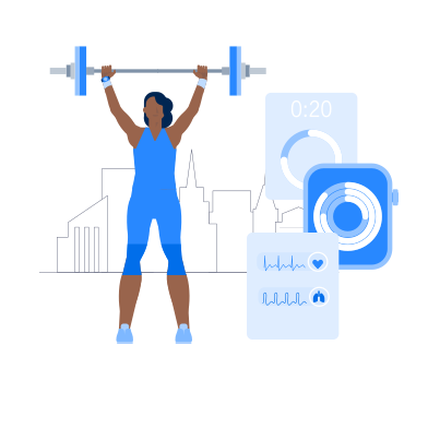 style Smart Fitness images in PNG and SVG | Icons8 Illustrations