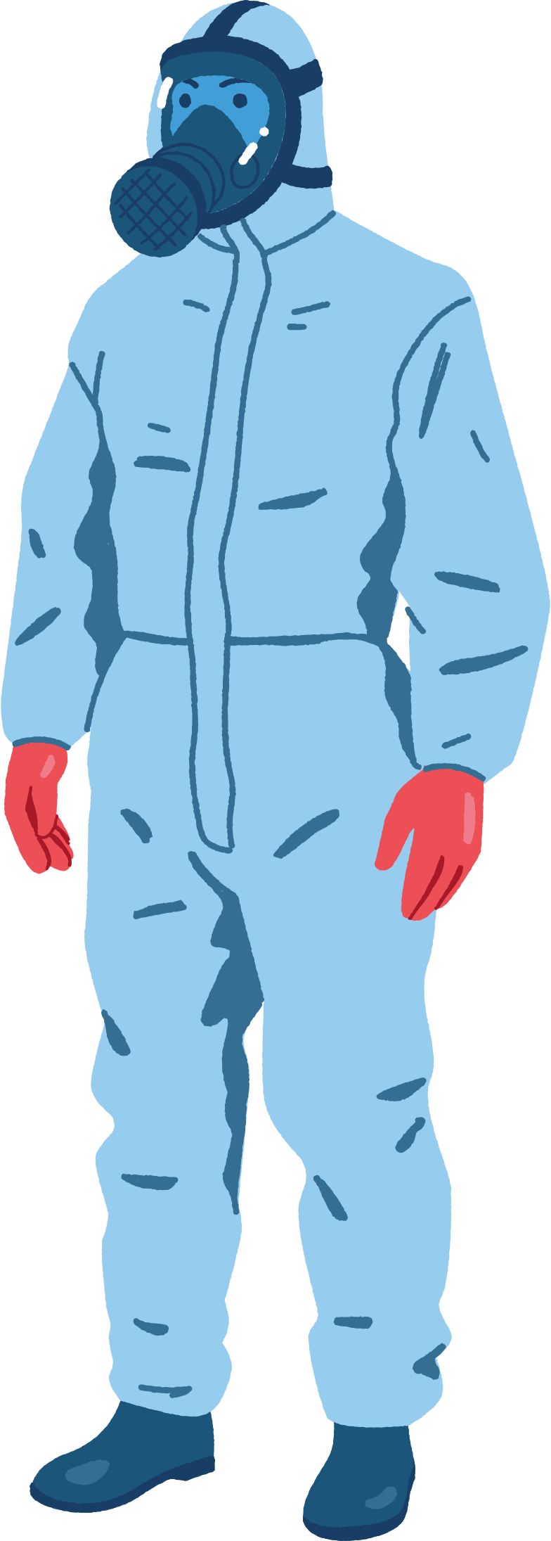 protective suit Clipart illustration in PNG, SVG